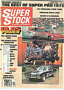 Super stock & drag Illustrated magazine Jan.  1980 (Image1)