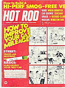 Hot Rod Magazine -   April 1974 (Image1)