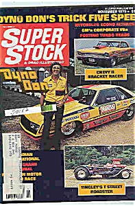 Super stock & drag illustrated magazine - Nov. 1979 (Image1)