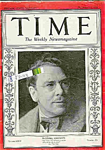 1934 Time Magazine - December 10, 1934 ANDERSON (Image1)