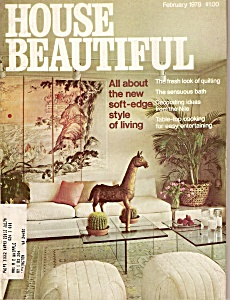 House Beautiful Magazine- February 1978