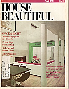 House Beautiful -  April  1978 (Image1)