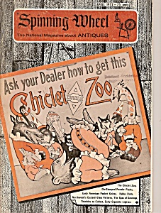 Spinning Wheel antiques magtazine -  April 1972 (Image1)