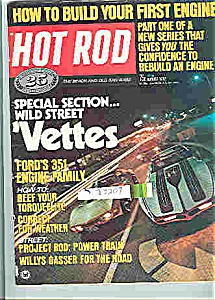 Hot Rod Magazine -  August 1972 (Image1)