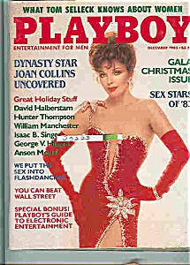 Playboy Magazine - December 1983 PIA ZADORA (Image1)