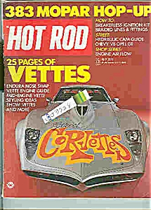 Hot Rod Magazine -   July 1973 (Image1)