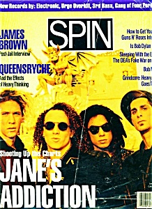 Spin Magazine-  June 1991 (Image1)