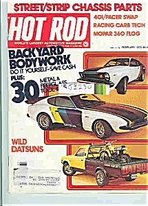 Hot Rod Magazine - Feb. 1976 (Image1)