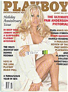 Playboy magazine - January 1996 PAMELA ANDERSON (Image1)