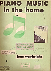 Piano Music In The Home - Volume Two.