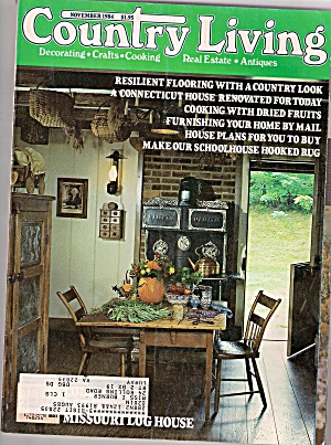 Country Living -  November 1984 (Image1)