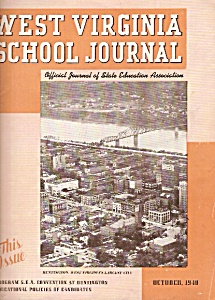West Virginia School Journal - October 1940 (Image1)