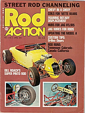 Rod Action Magazine -  April 1974 (Image1)