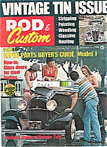 Rod & Custum magazine  - December 1972 (Image1)