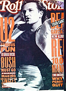 Rolling Stone Magazine -  October 1, 1992 (Image1)