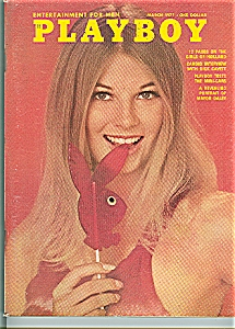 Playboy magazine - March 1971 (Image1)