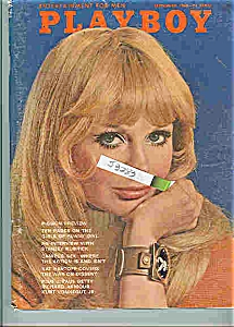 PLAYBOY Magazine SEPTEMBER 1968 DRU HART (Image1)