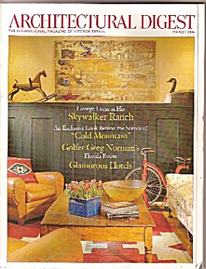 Architectural digest - March 2004- (Image1)