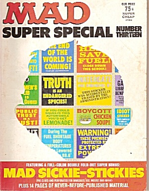 Mad Super Special - Copyright 1969,70 And 1974