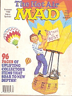 Mad Magazine -the Hot Air - Summer 1988
