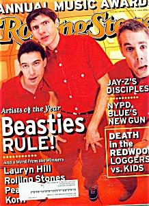 Rolling Stone magazine -  January 21, 1999 (Image1)