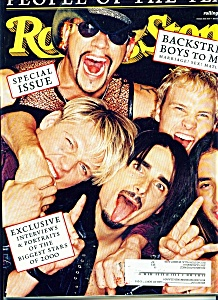 Rolling Stone Magazine- December 14, 2000
