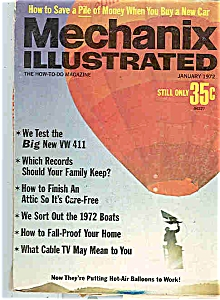 Mechanix Illustrated - January 1972 (Image1)