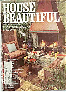House Beautiful    January 1978 (Image1)