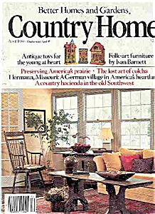 Country Home  - April 1986 (Image1)