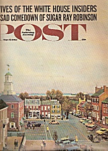 Saturday Evening Post - March 17, 1962
