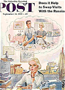 The Saturday Evening Post   Sept  19, 1959 (Image1)