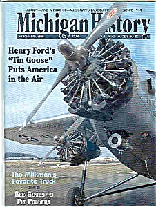 Michigan History - March/april 1998