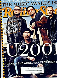 Rolling Stone Magazine- January 18, 2001 (Image1)