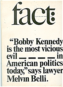 Fact Magazine - Vol. #l - issue four  July Aug-64 (Image1)