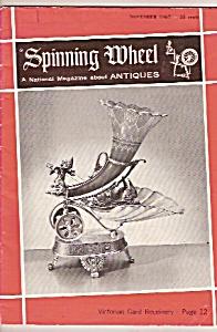 Spinning wheel magazine- November 1967 (Image1)