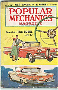 Popular Mechanics Magazine - Sept. 1957 (Image1)
