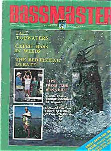 Bassmaster magazine - November 1987 (Image1)