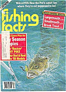Fishing facts magazine -  March 1988 (Image1)