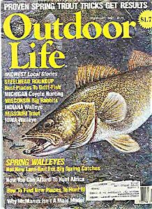 Outdoor Life Magazine - February 1988 (Image1)