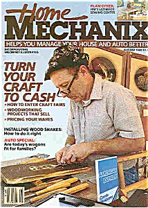 Home Mechanix - August 1985 (Image1)