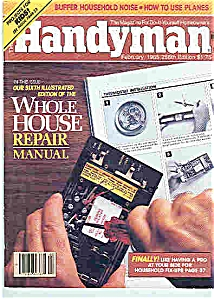 Handyman Magazine - February 1985