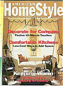 American Home Style Magazine - Dec. 1993 (Image1)