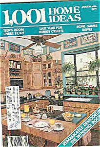1,001 Home Ideas - January 1985 (Image1)