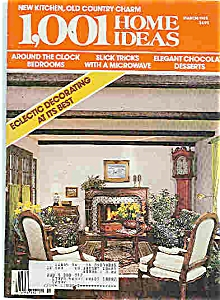 1,001 Home iDEAS - mARCH 1985 (Image1)