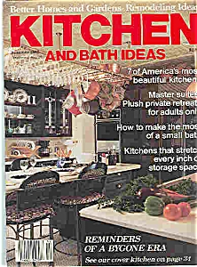 Kitchen and Bath Ideas  - Summer 1985 (Image1)