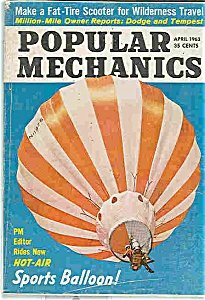 Popular Mechanics - April 1963 (Image1)