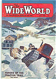 The Wide World Magazine = July 1957 (Image1)
