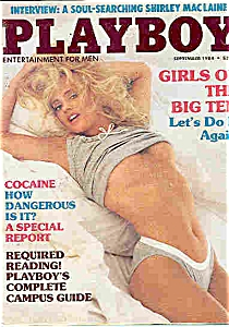 Playboy Magazine -September 1984 (Image1)
