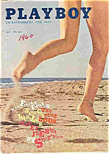 Playboy Magazine - July 1960 (Image1)