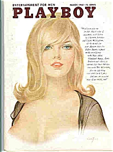 Playboy Magazine March 1965 (Image1)